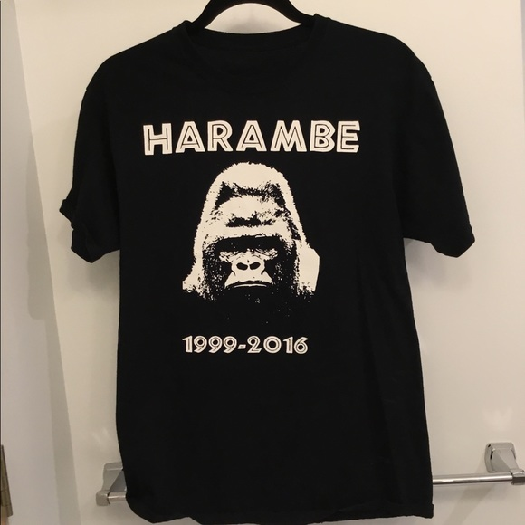 509d7b29a Supreme Shirts | Rip Harambe T Shirt Meme Tee | Poshmark